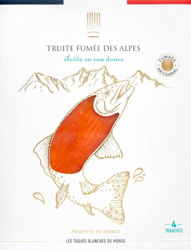 Truite fumée française des Alpes, Les Toques Blanches du Monde (4 tranches, 130 g)