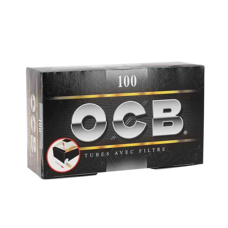 Tubes avec filtre, OCB (x100) (calibre moyen)