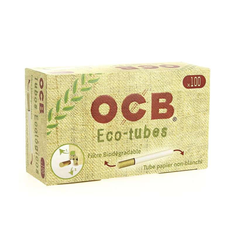 Tubes Chanvre biodégradable avec filtre, OCB (x100) (calibre moyen)