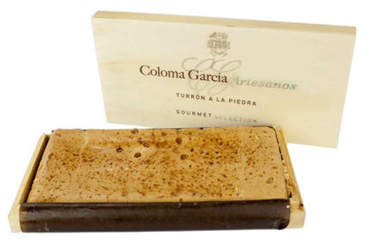 Turron gourmet à la pierre, Coloma Garcia (300 g)