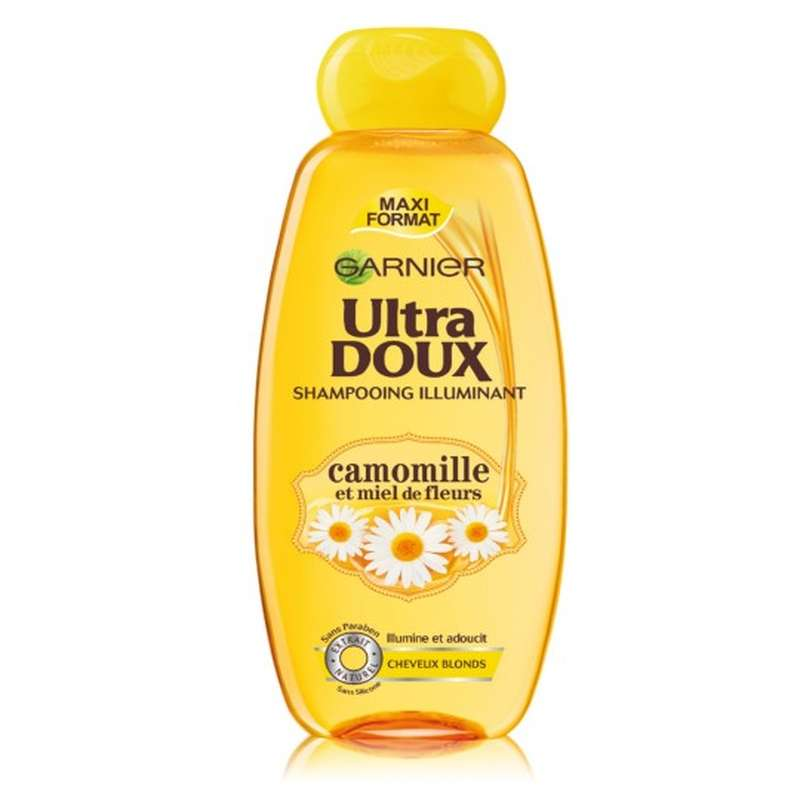 Shampoing Camomille-Miel, Ultra Doux (250 ml)