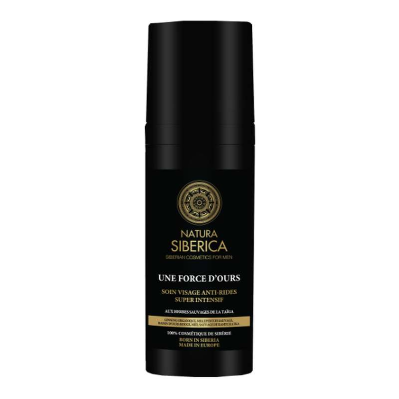 Une Force d'Ours Soin visage anti-ride super intensif, Natura Siberica (50 ml)