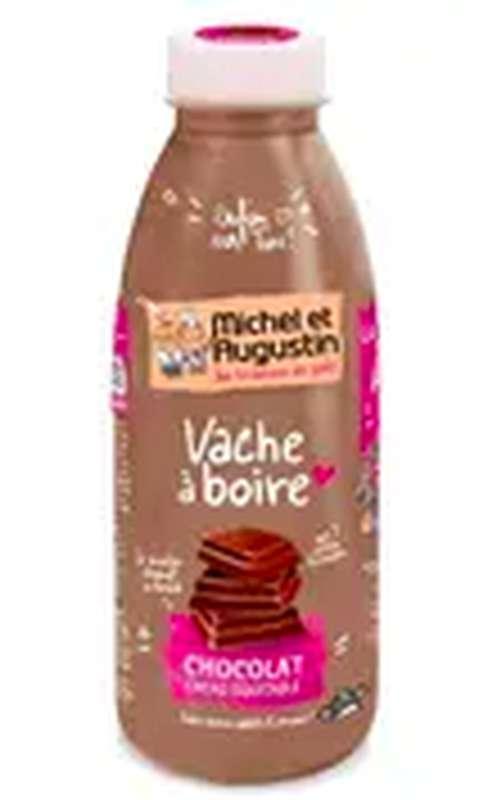 Vache à boire Chocolat au cacao équitable, Michel et Augustin (500 ml)