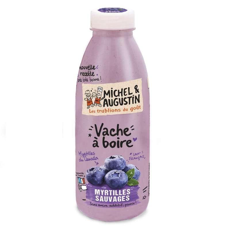 Vache à boire Myrtilles Sauvages, Michel et Augustin (500 ml)