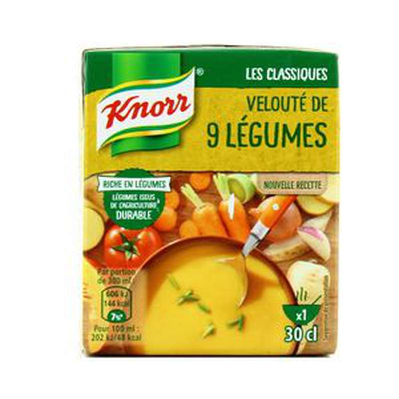 Velouté 9 légumes, Knorr (30 cl)