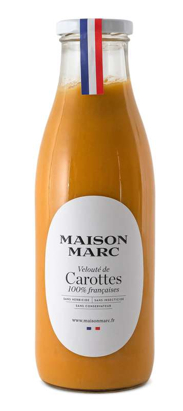 Velouté de carottes, Maison Marc (75 cl)