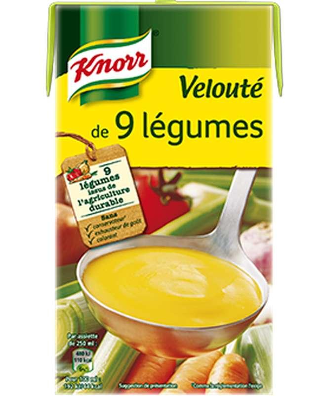 Velouté de 9 légumes, Knorr (1 L)
