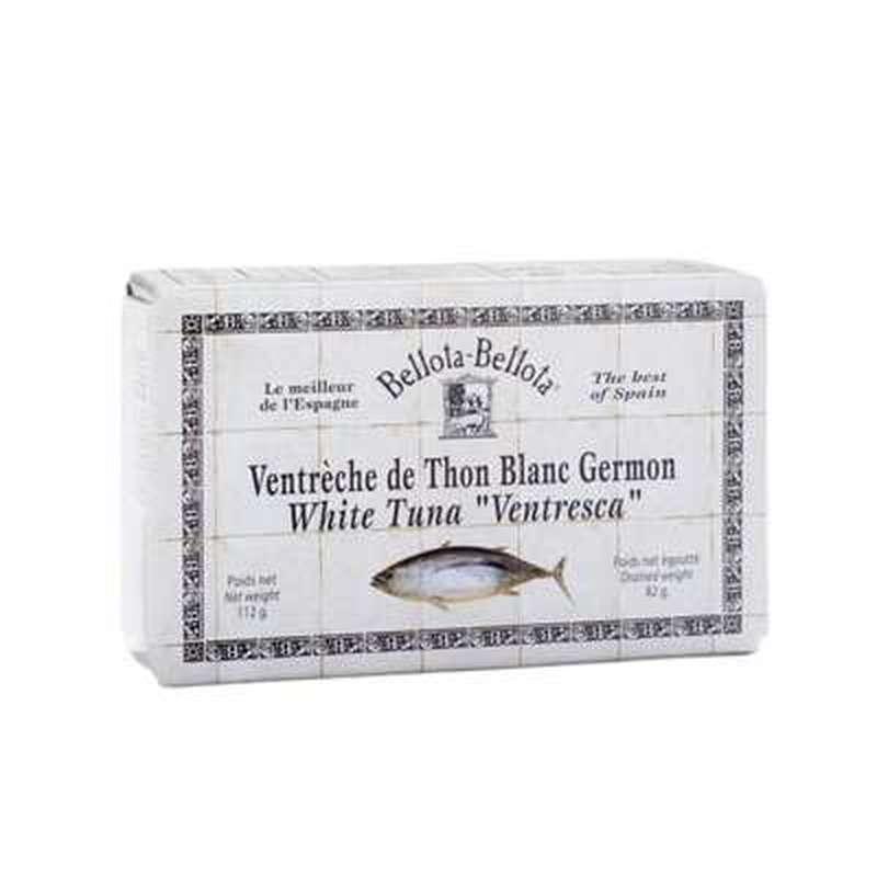 Ventrèche de thon blanc Germon extra tendre, Bellota-Bellota (190 g)