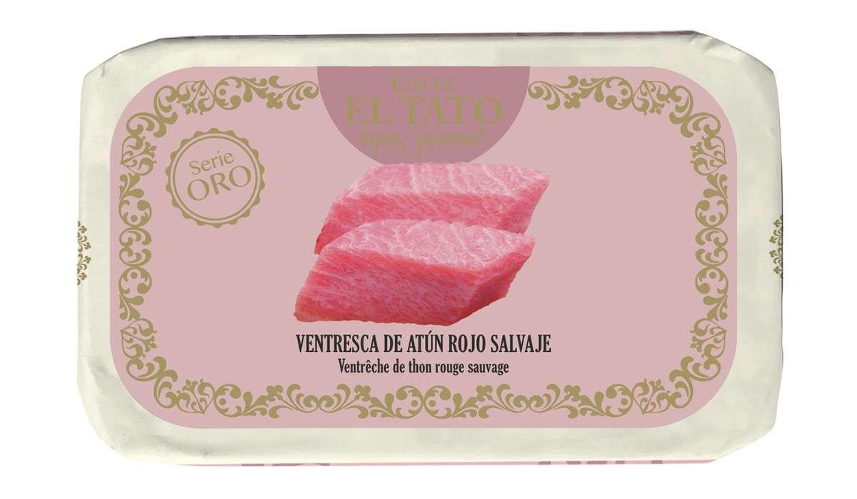 Ventrèche de thon rouge sauvage, Calle El Tato (85 g)