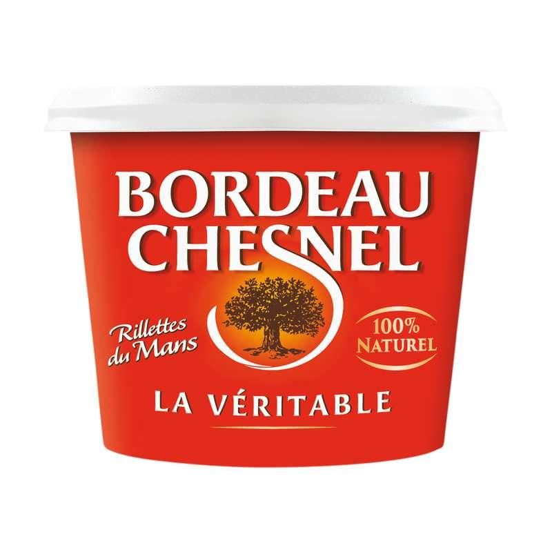Rillettes du Mans pur porc, Bordeau Chesnel (220 g)