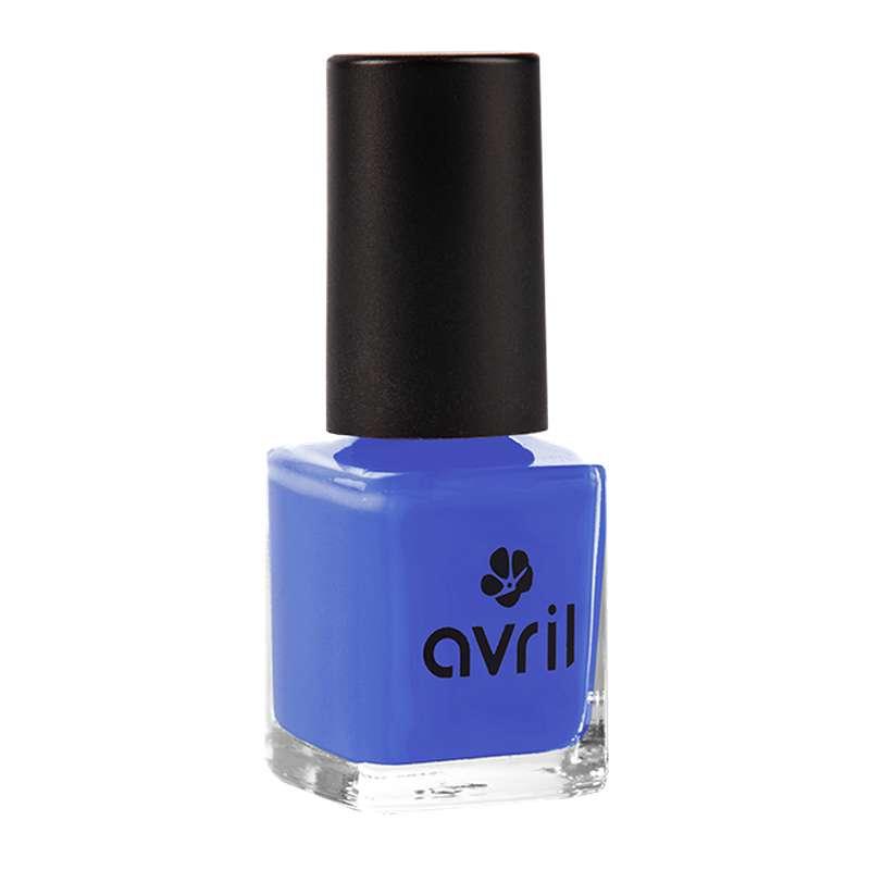 Vernis à ongles bleu lapis lazuli n°65, Avril (7 ml)