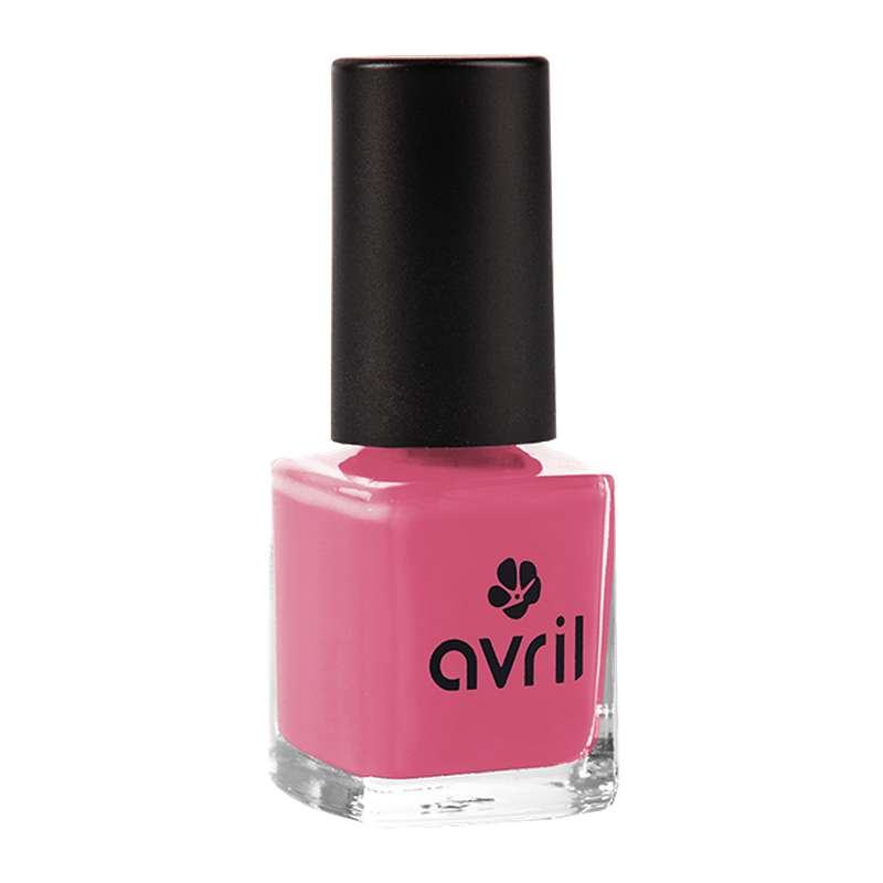 Vernis à ongles rose bollywood n°57, Avril (7 ml)