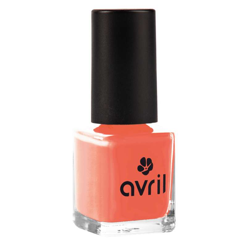 Vernis à ongles corail n°02, Avril (7 ml)