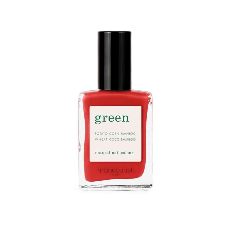Vernis à ongles Green Poppy Red, Manucurist (15 ml)