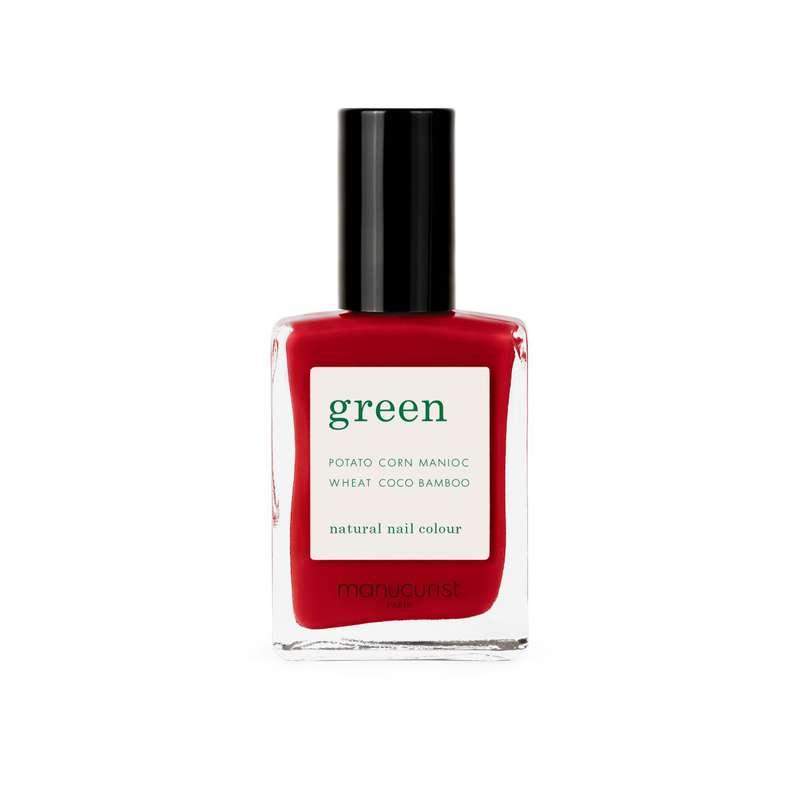 Vernis à ongles Green Red Cherry, Manucurist (15 ml)