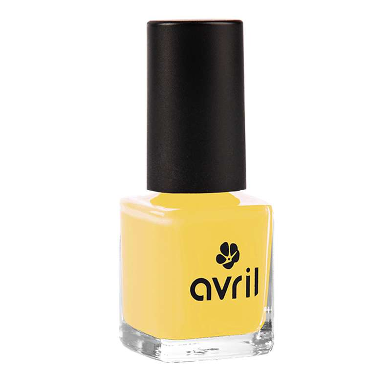 Vernis à ongles jaune curry n°680, Avril (7 ml)