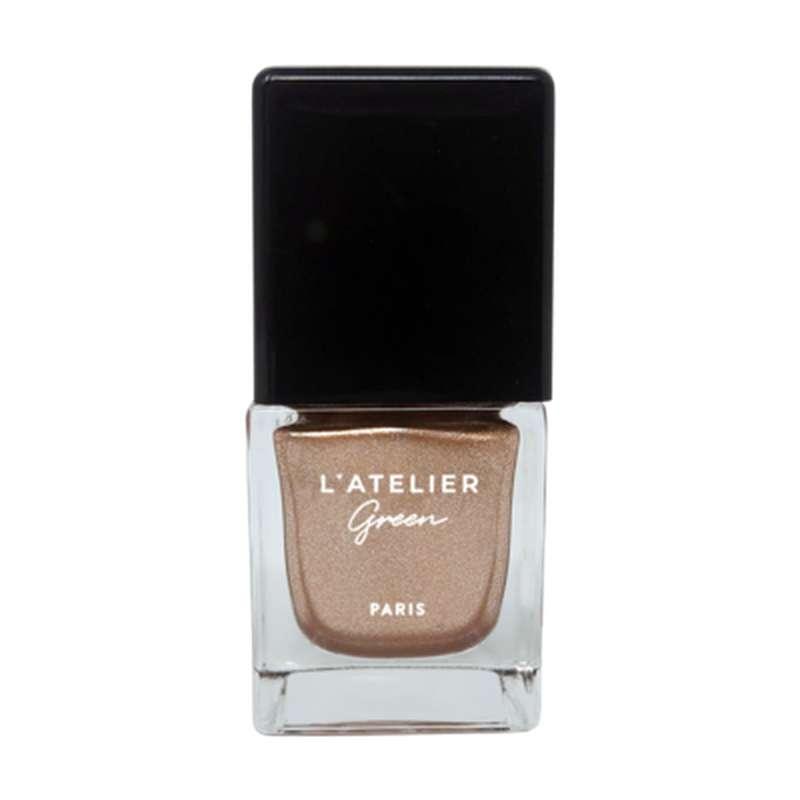 Vernis à ongles or Golden Girl Vegan, L'Atelier Green (10 ml)