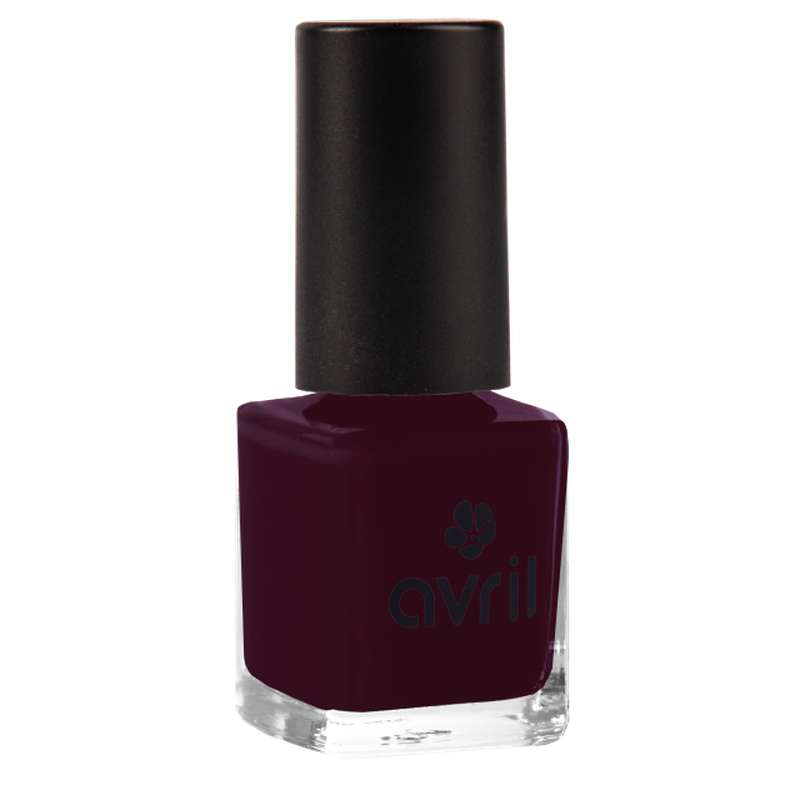 Vernis à ongles prune n°82, Avril (7 ml)