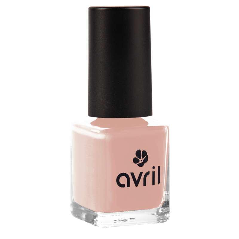 Vernis à ongles rose thé, Avril (7 ml)