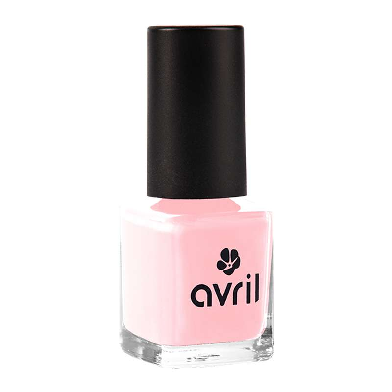 Vernis à ongles rose dragée, Avril (7 ml)