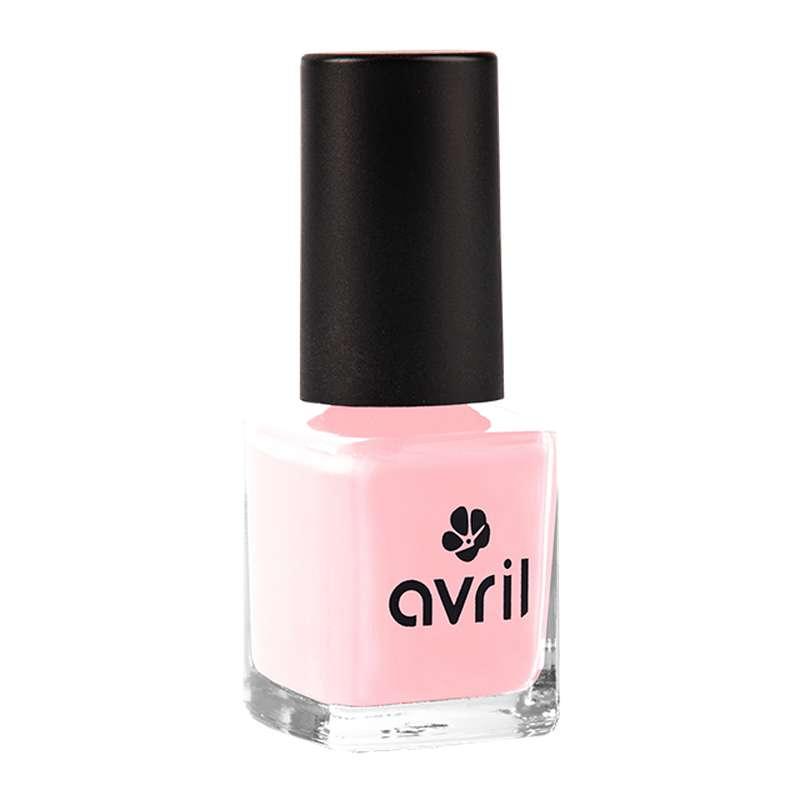 Vernis à ongles rose dragée, Avril (7 ml)