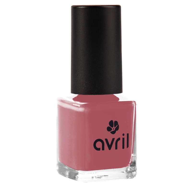 Vernis à ongles rose patiné, Avril (7 ml)