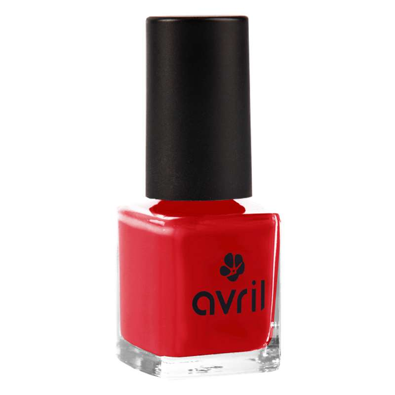 Vernis à ongles rouge passion, Avril (7 ml)