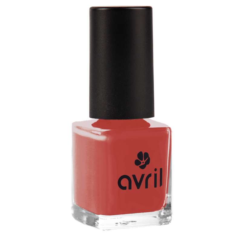Vernis à ongles rouge rétro n°732, Avril (7 ml)