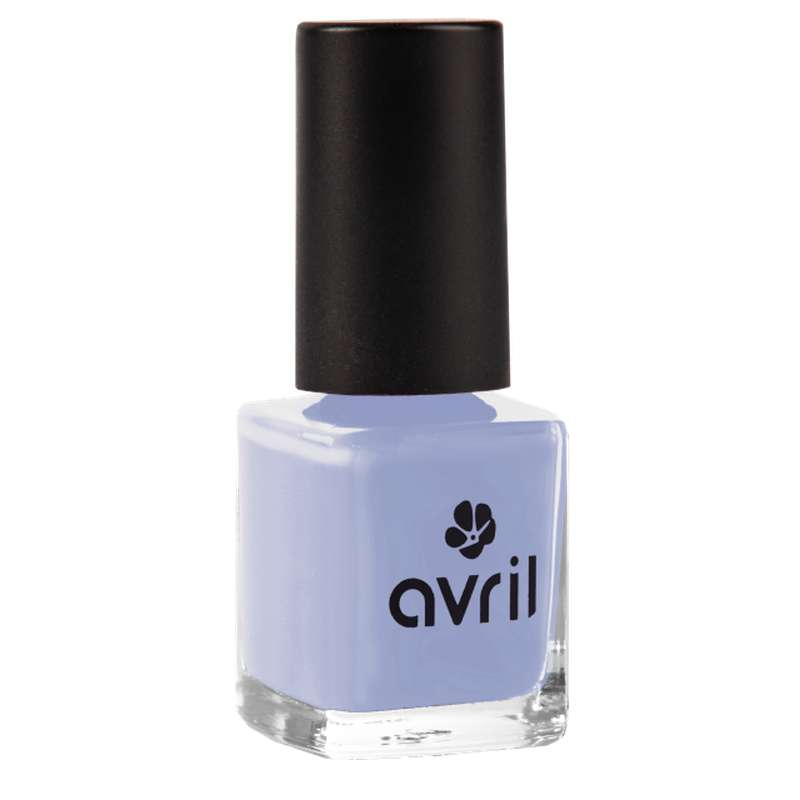Vernis à ongles bleu layette, Avril (7 ml)