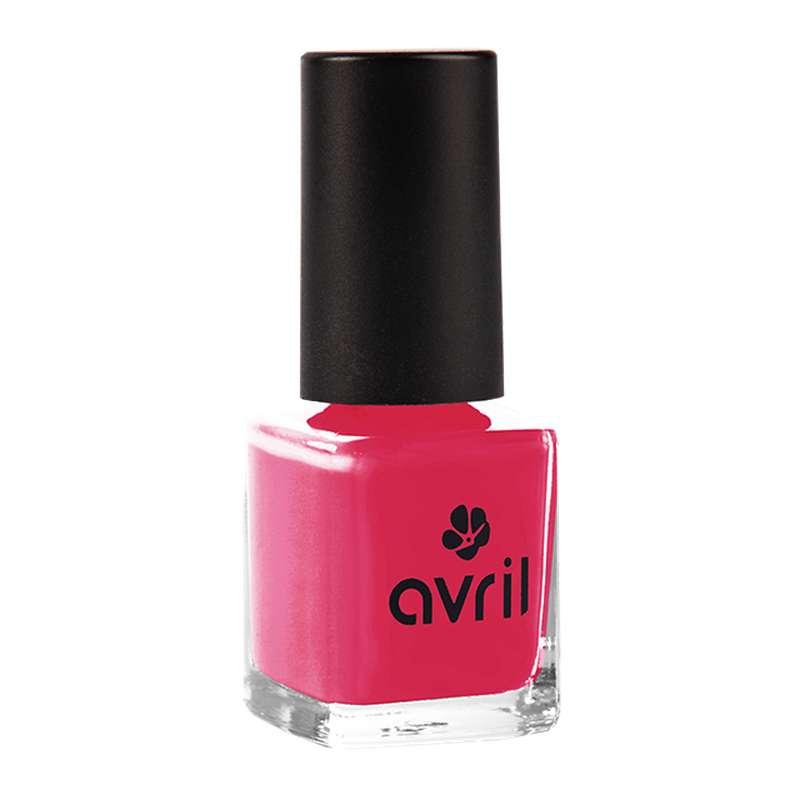 Vernis à ongles sorbet framboise, Avril (7 ml)