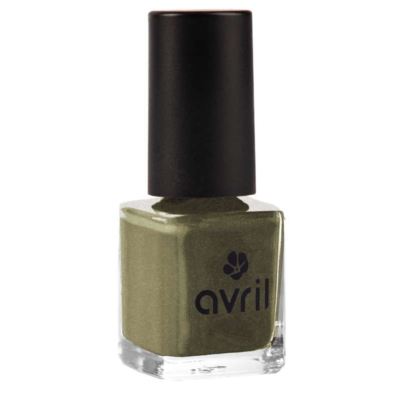 Vernis à ongles acier nacré n°102, Avril (7 ml)