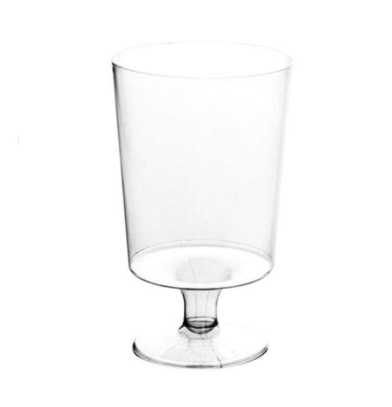 10 verres à vin en plastique (15 cl) / 210VIN15