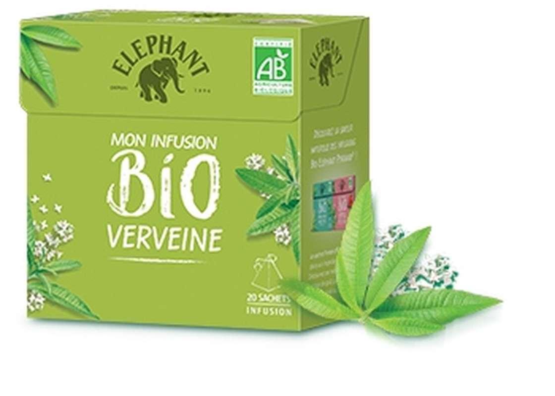 Infusion verveine BIO, Elephant (20 sachets)