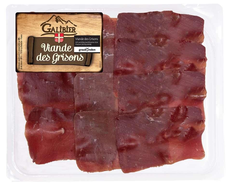 Viande de grisons IGP, Galibier (70 g)