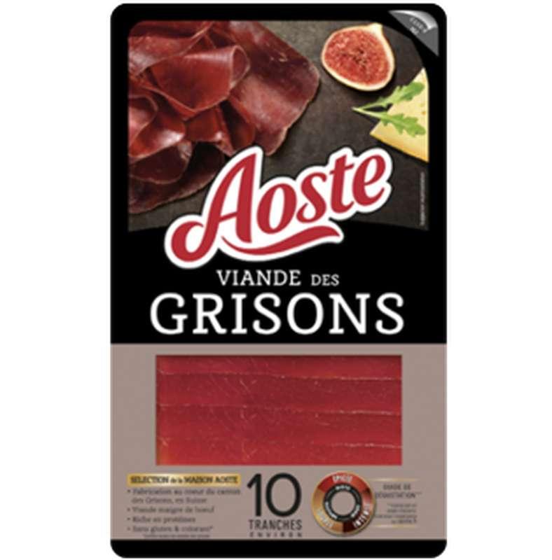 Viande des Grisons, Aoste (10 tranches, 80 g)