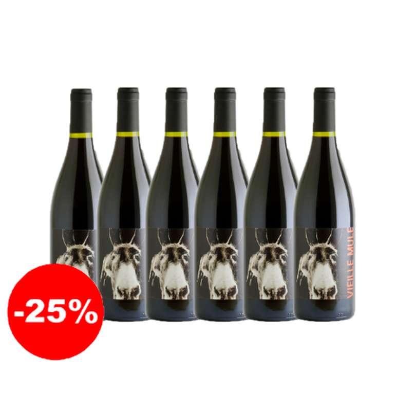 Vieille Mule rouge - 2019 - IGP Côtes Catalanes (75 cl, caisse de 6)
