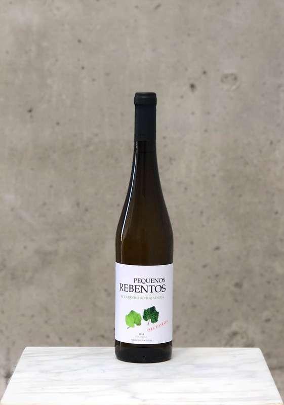 Alvarinho Trajadura vinho verde naturel Pequenos Rebentos 2020 (75 cl)