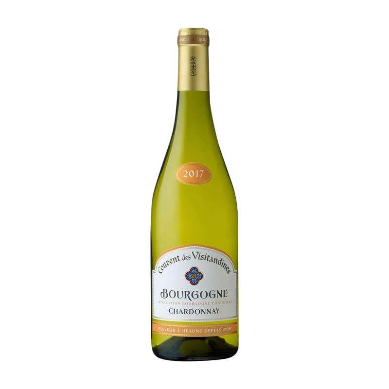 Vin blanc AOP Bourgogne Chardonnay Couvent des Visitandines (75 cl)