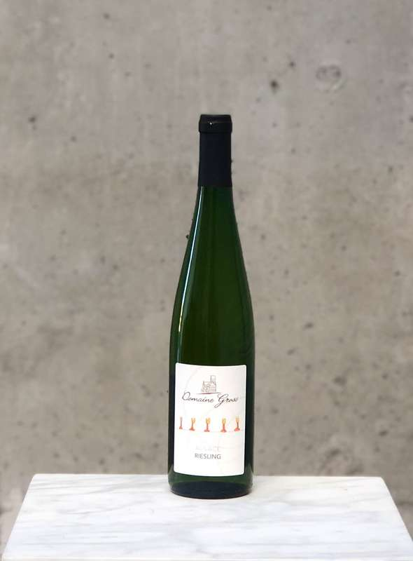 Riesling naturel du domaine Gross 2019 (75 cl)