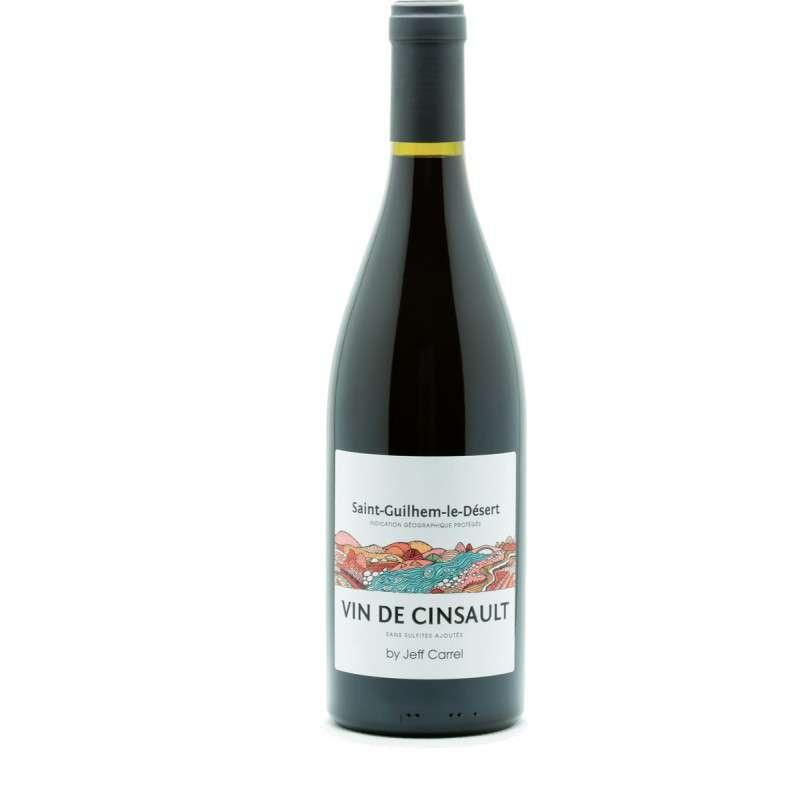 Vin De Cinsault (Sans Soufre) - 2019 - IGP Saint Guilhem Le Désert (75 cl)