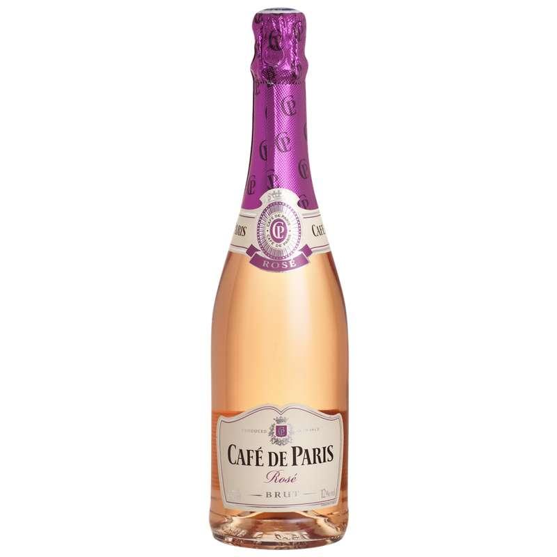 Vin mousseux rosé, Café de Paris (75 cl)