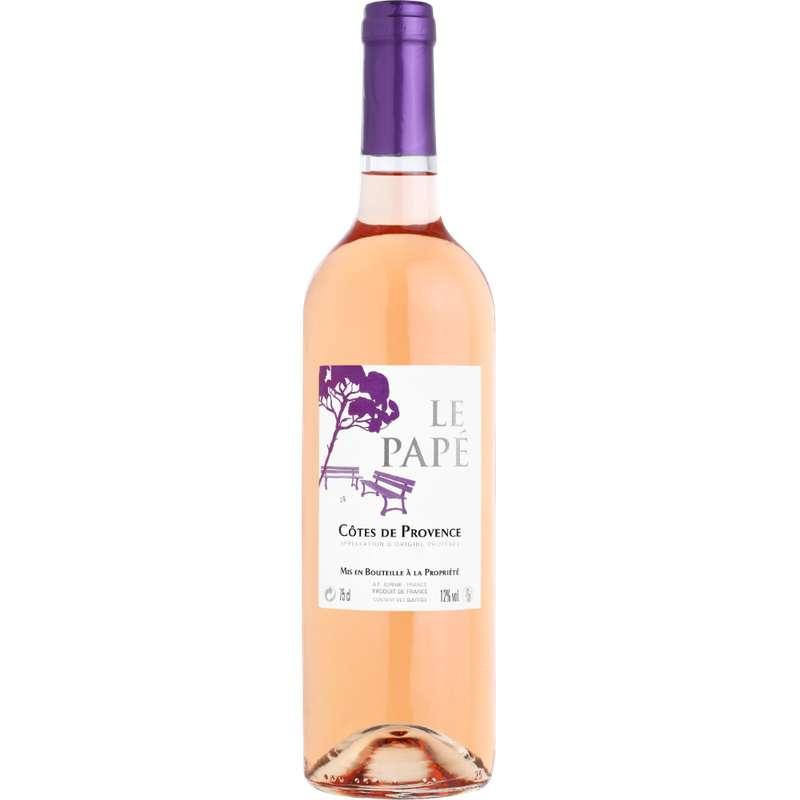 Côtes de Provence AOP le Papé 2018 (75 cl)
