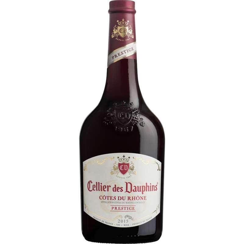 Côtes du Rhône AOP Cellier des Dauphins prestige 2018 (75 cl)