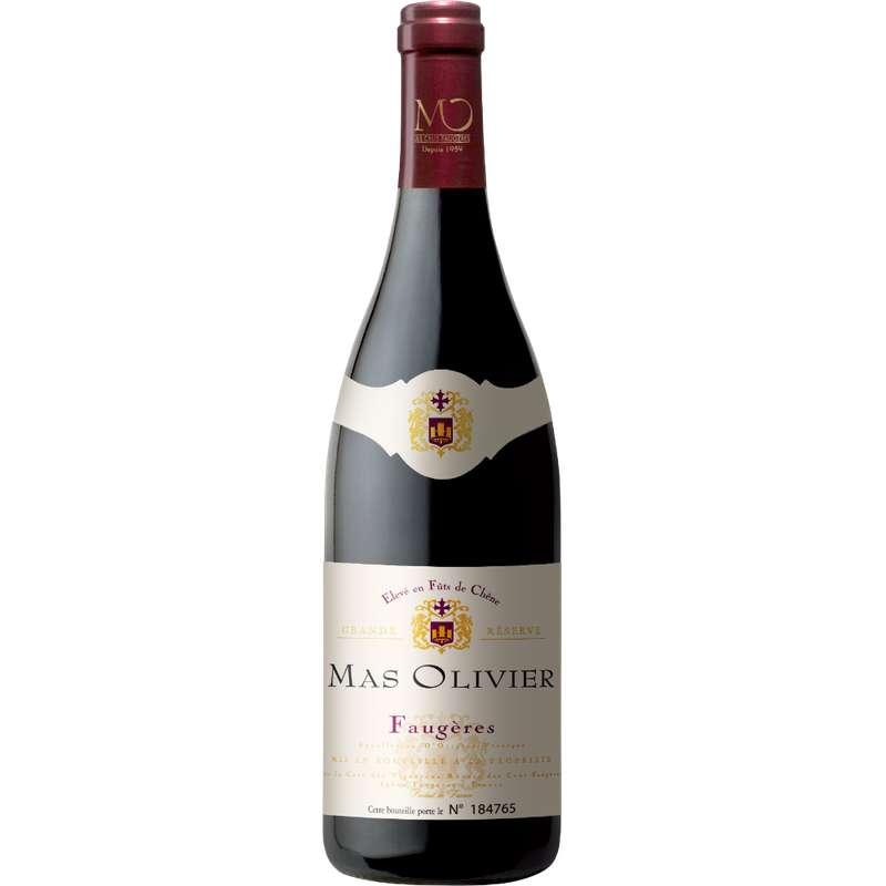 Faugères AOP grande réserve en fût de chêne Mas Olivier 2019 (75 cl)