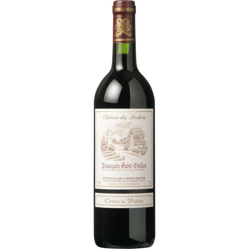 Vin rouge AOP Puisseguin St Emilion Comté de Valois (75 cl)