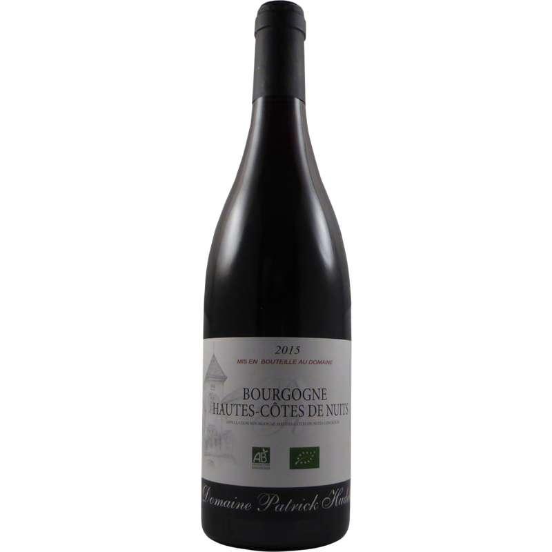 Bourgogne Hautes Côtes de Nuits AOP Domaine Patrick Hudelot 2017 BIO (75 cl)
