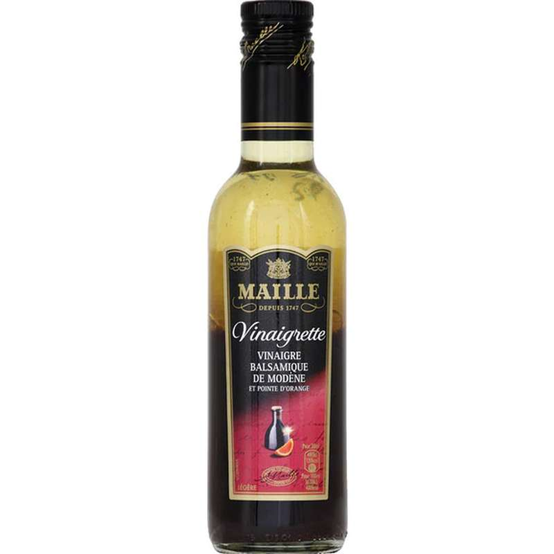Vinaigrette balsamique de Modène et pointe d'orange, Maille (36 cl)