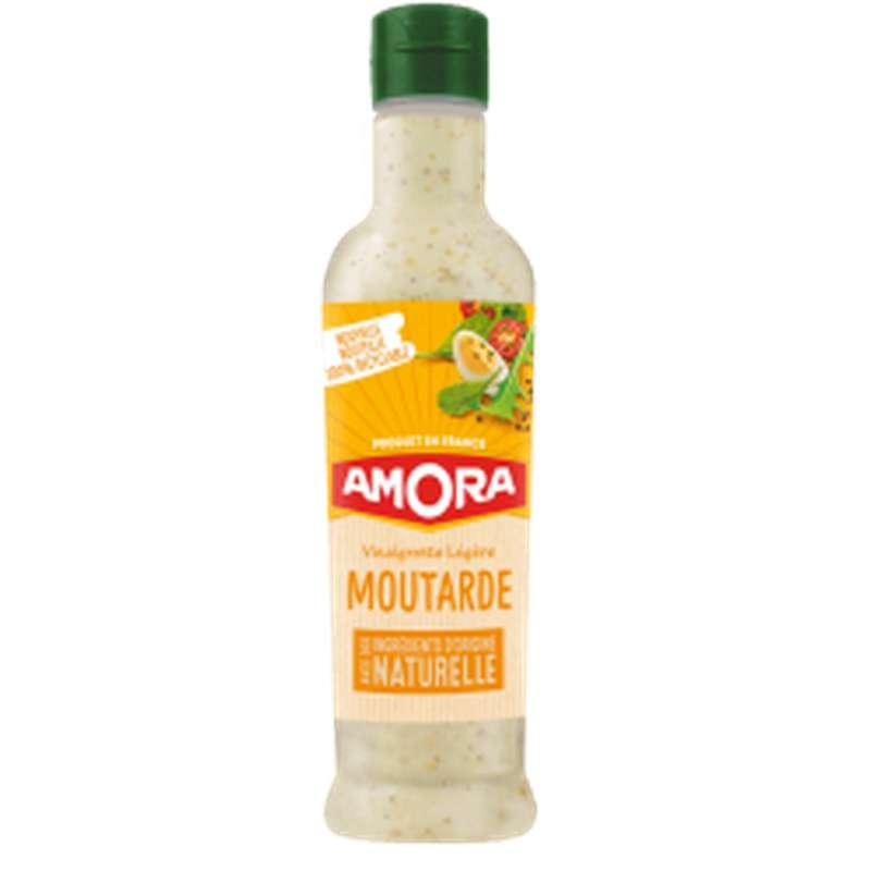 Vinaigrette légère à la moutarde, Amora (380 ml)