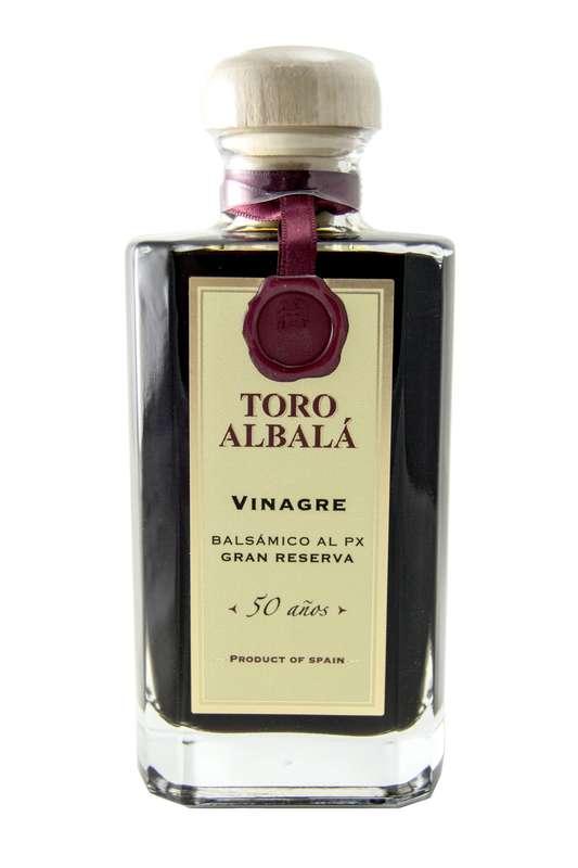 """Vinaigre balsamique Grande Réserve """"50 ans"""", Toro Albalá (200 ml)"""
