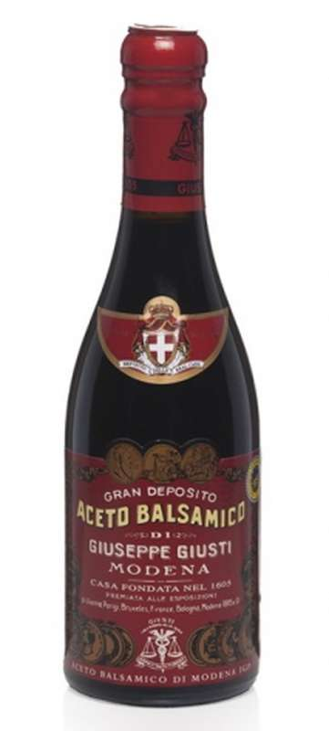 Vinaigre balsamique de Modène Il Denso Giusti, Albert Ménès (250 ml)